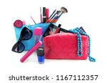 bags with decorative cosmetics... | Shutterstock . vector #1167112357