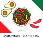 illustration vector isolated... | Shutterstock .eps vector #1167114157