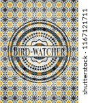 bird watcher arabesque style... | Shutterstock .eps vector #1167121711