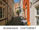 street with summer restaurant... | Shutterstock . vector #1167138367