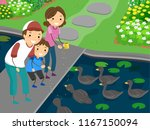 Illustration Of A Kid Boy With...