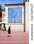 spain  catalonia  figueres ... | Shutterstock . vector #1167164137