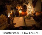 an old book with clean pages... | Shutterstock . vector #1167173371