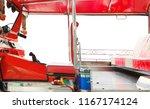 in passenger cabin of tuk tuk... | Shutterstock . vector #1167174124