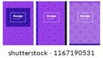 light purple  pink vector...   Shutterstock .eps vector #1167190531