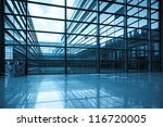bright window and glass curtain ... | Shutterstock . vector #116720005