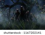 bogeyman a creature of a... | Shutterstock . vector #1167202141