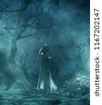 Ghost Bride In Creepy Forest 3...