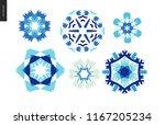 Winter Kaleidoscopic Patterns   ...