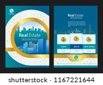 brochure template design.... | Shutterstock .eps vector #1167221644