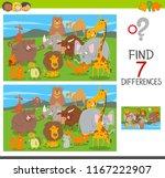 cartoon illustration of finding ... | Shutterstock .eps vector #1167222907