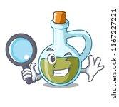 detective glass bottle premium... | Shutterstock .eps vector #1167227221