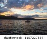 lake side sunsets   Shutterstock . vector #1167227584