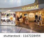 nice  france   august 21  2018  ... | Shutterstock . vector #1167228454