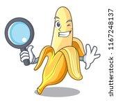 detective character banana in... | Shutterstock .eps vector #1167248137