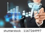marketing positioning and... | Shutterstock . vector #1167264997