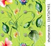 seamless pattern with original... | Shutterstock . vector #1167267451