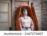 zombie. a undead zombie... | Shutterstock . vector #1167273607