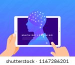 illustrations concept machine... | Shutterstock .eps vector #1167286201
