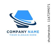 faster the future logo template ... | Shutterstock .eps vector #1167299071