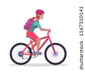 vector illustration of a young...   Shutterstock .eps vector #1167310141