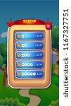 shop mobile game user interface ...