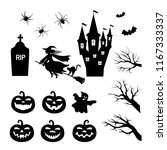 traditional set of stencil... | Shutterstock .eps vector #1167333337