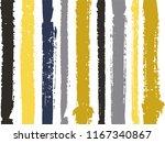 Vertical Stripes Of Gold Black...
