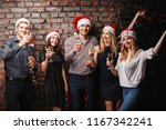 christmas party  holiday  fun.... | Shutterstock . vector #1167342241