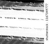 black and white grunge stripe... | Shutterstock .eps vector #1167349777