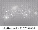 glow light effect. vector... | Shutterstock .eps vector #1167352684
