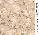 watercolor seamless pattern... | Shutterstock . vector #1167352771