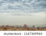 view big megalopolis under the... | Shutterstock . vector #1167369964