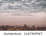 view big megalopolis under the... | Shutterstock . vector #1167369967