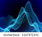 digital landscape with flowing...   Shutterstock .eps vector #1167372151