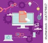 vector illustration for web... | Shutterstock .eps vector #1167375817