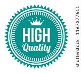 premium quality label | Shutterstock .eps vector #1167377611
