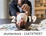 successful business in 2019... | Shutterstock . vector #1167379057
