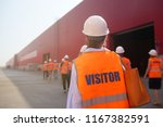 factory inspection. group of... | Shutterstock . vector #1167382591