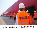 factory inspection. group of... | Shutterstock . vector #1167382597
