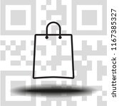 vector icon bag   Shutterstock .eps vector #1167385327