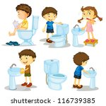illustration of a kids and... | Shutterstock . vector #116739385