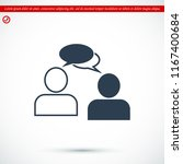 speaking of people  the chat... | Shutterstock .eps vector #1167400684