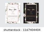 wedding invite  invitation.... | Shutterstock .eps vector #1167404404
