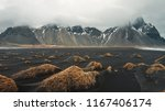 stokksnes cape and vestrahorn... | Shutterstock . vector #1167406174