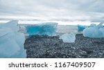 iceland landscape. iceberg in... | Shutterstock . vector #1167409507