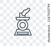 locomotive vector icon isolated ...   Shutterstock .eps vector #1167410794