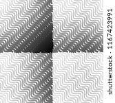 black and white grunge stripe...   Shutterstock . vector #1167423991