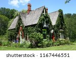 claverleigh is a gothic revival ... | Shutterstock . vector #1167446551