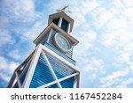 the dockyard clock  which kept... | Shutterstock . vector #1167452284